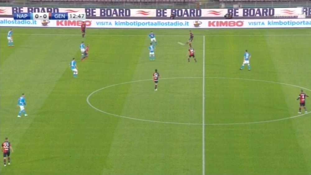 Napoli - Genoa be board