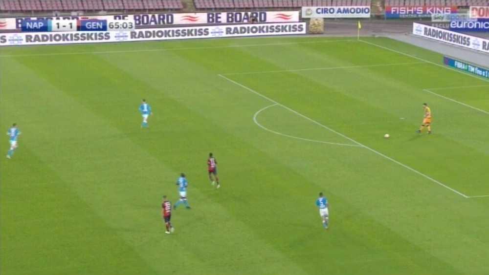 Napoli Genoa be board
